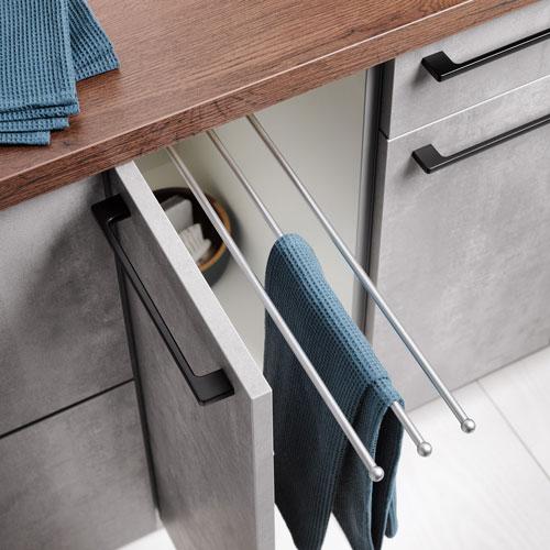 Betonlook keukenkast van Eigenhuis Keukens