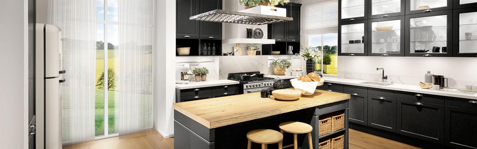 Donkere nostalgische keuken | Keuken inspiratie | Eigenhuis Keukens