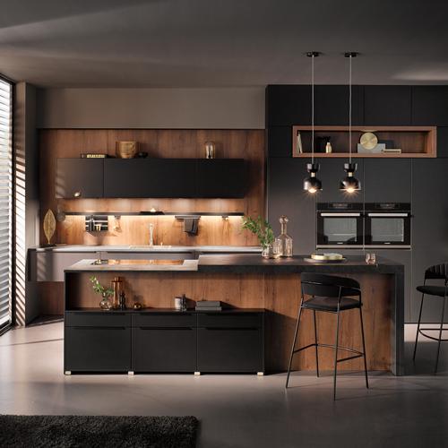 Donkere woonkeuken | Keukeninspiratie opdoen | Eigenhuis Keukens