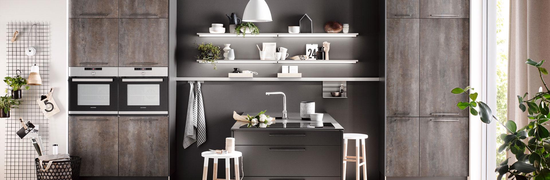 ECOOK keuken in betonlook | Eigenhuis Keukens