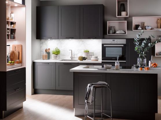 Ecook Plus grijze keuken | Eigenhuis Keukens
