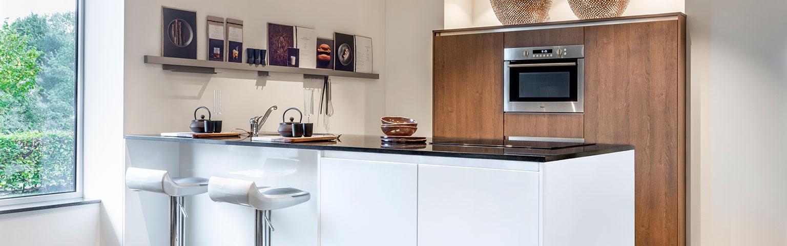 Mooie witte hoogglans keuken | Keuken inspiratie opdoen