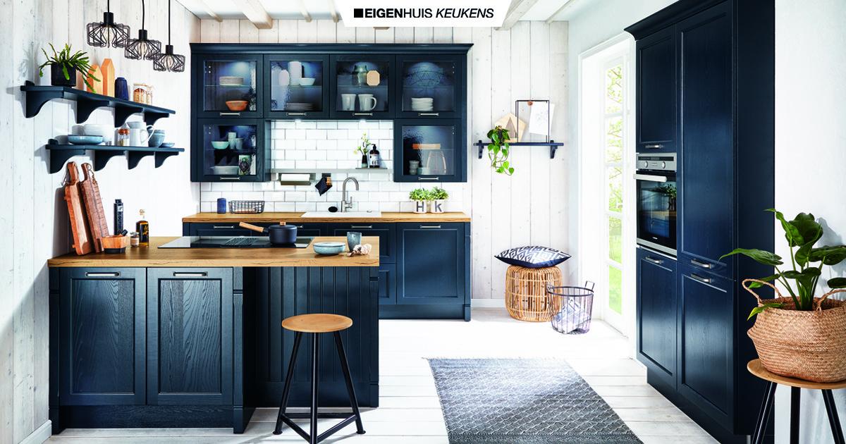 Houten Keuken Keuken Inspiratie Eigenhuis Keukens