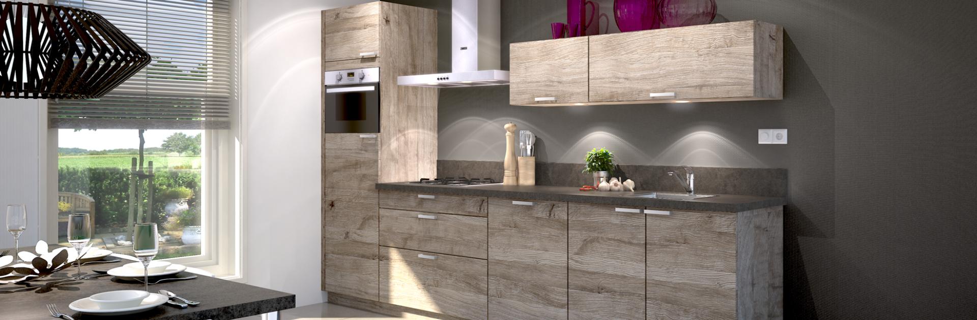 Inspiratie voor kleine rechte keukens   Eigenhuis Keukens