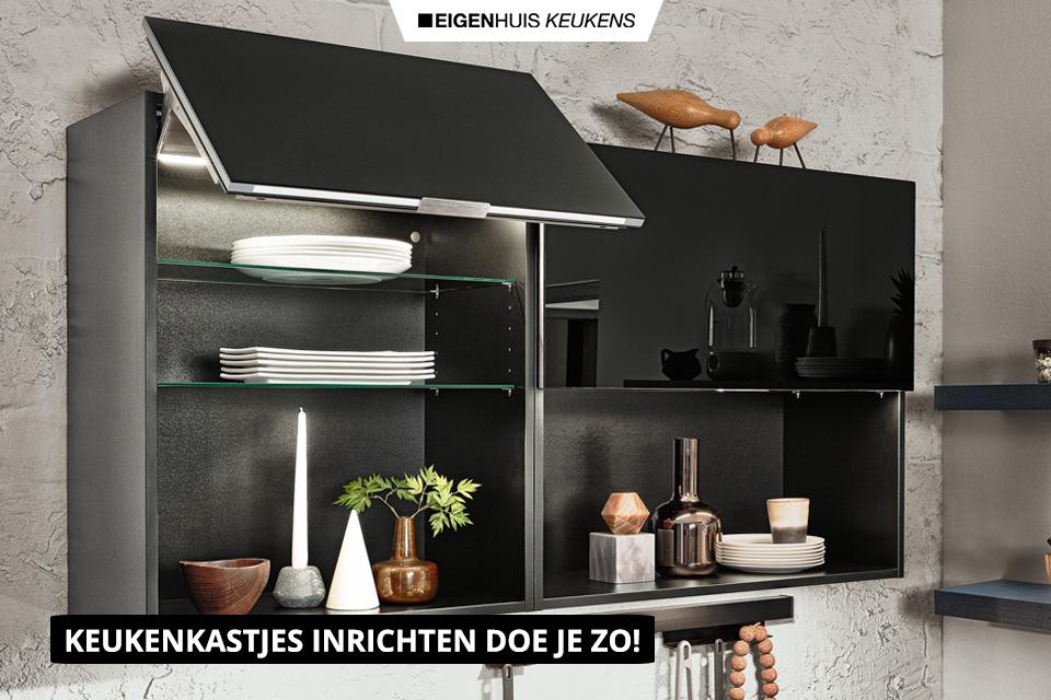 Keukenkastjes inrichten doe je zo   Eigenhuis Keukens