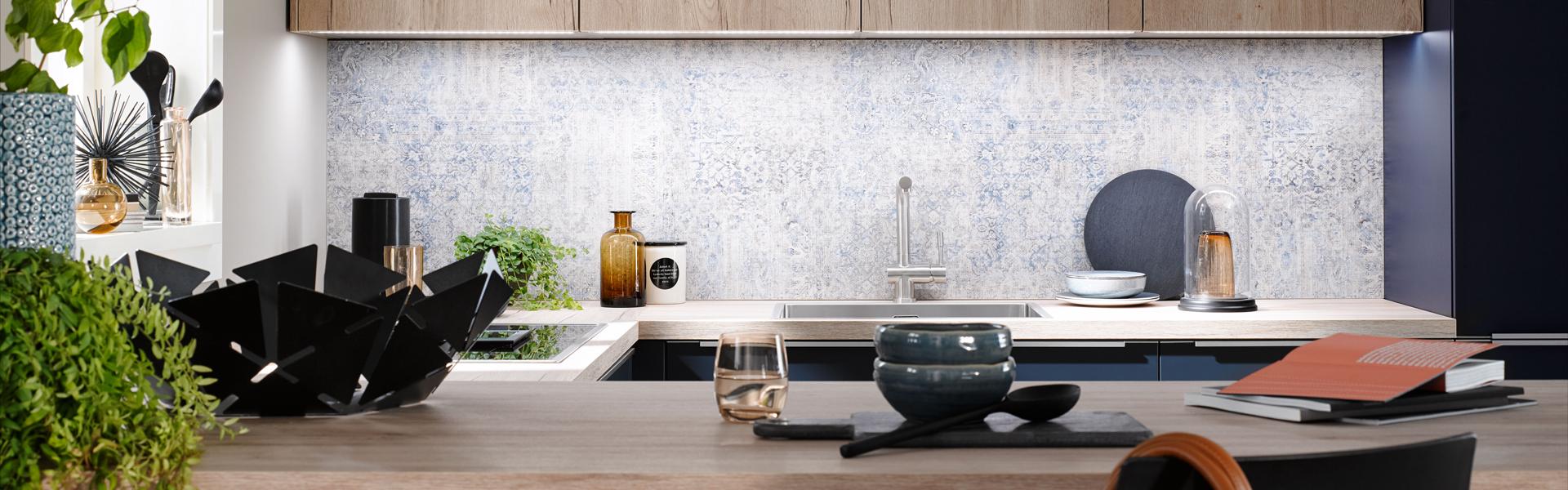 Kleine blauwe keukens | Eigenhuis Keukens