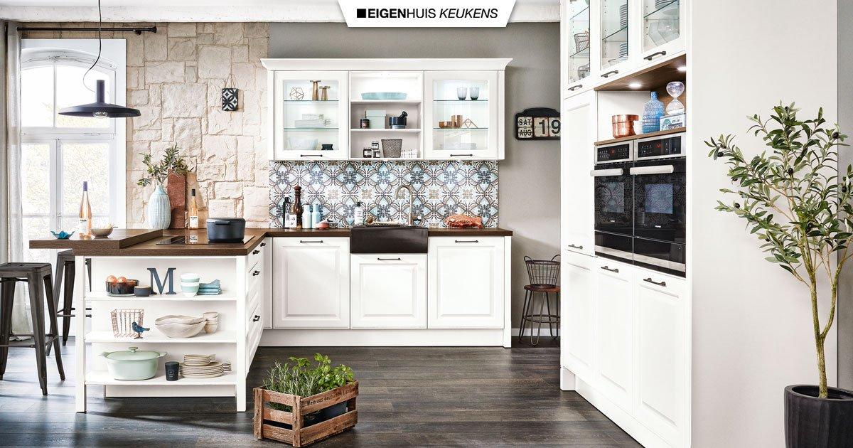 Landelijke Keuken Nostalgisch Warm En Gezellig Eigenhuis Keukens