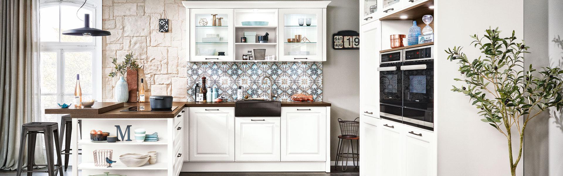 Klassieke witte keuken | Keukentrends | Eigenhuis Keukens