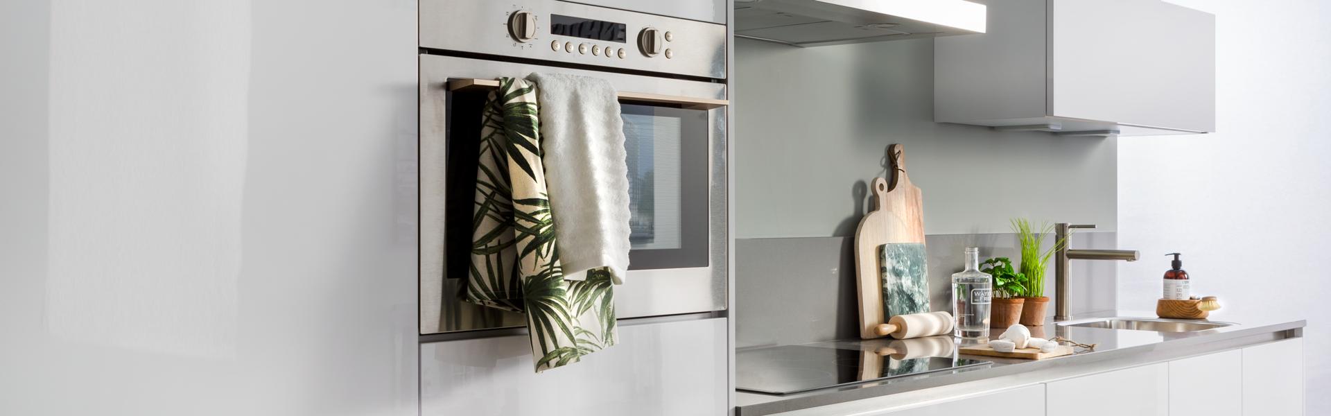 Rechte witte keuken | Keuken inspiratie