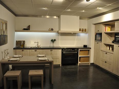Eigenhuis IQ 2-delige landelijke keuken met zitgedeelte