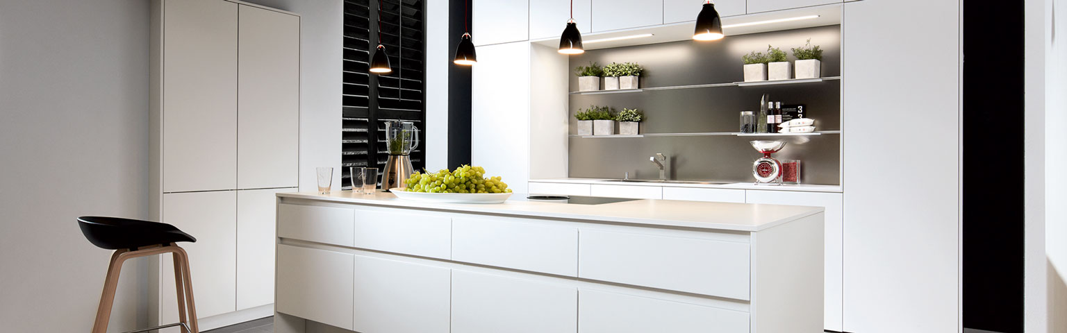 Unieke witte design keuken | Keukentrends | Eigenhuis Keukens