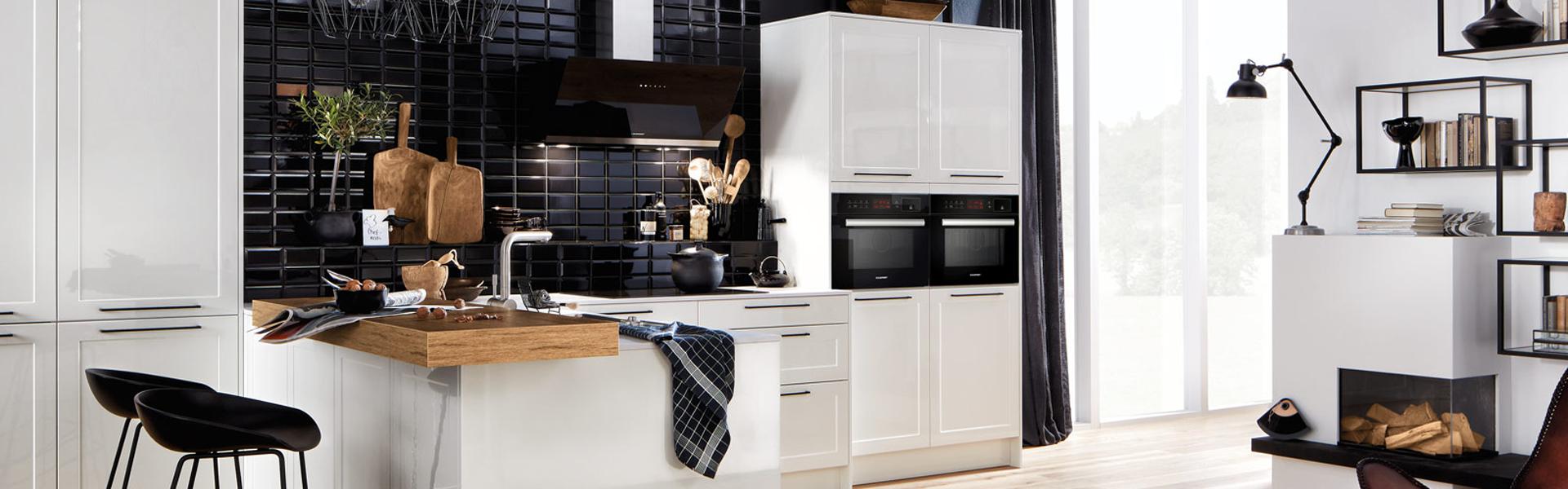 Witte woonkeuken | Keuken inspiratie | Eigenhuis Keukens