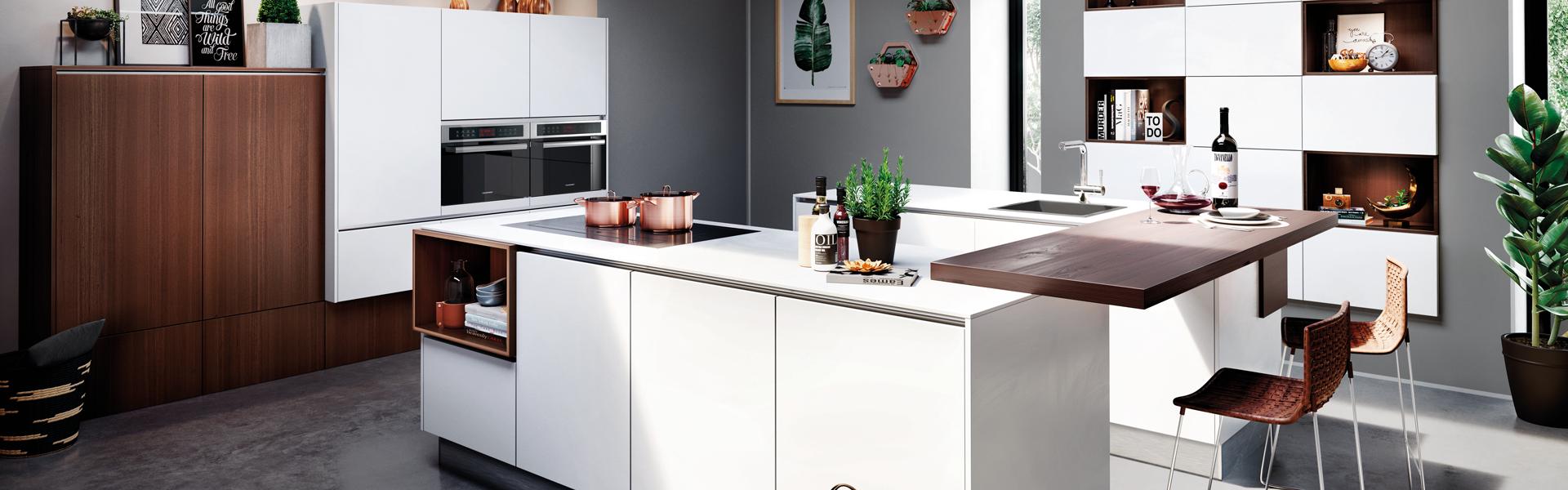 Houten woonkeuken | Eigenhuis Keukens